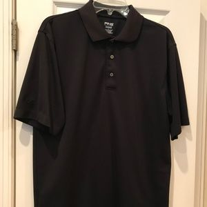 PING Black Polo Golf Shirt
